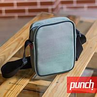 Сумка на плечо мужская \ женская Punch Block - Grey