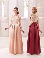 Вечернее платье (23) для выпускных вечеров и свидетельниц (цвета - в ассортименте)