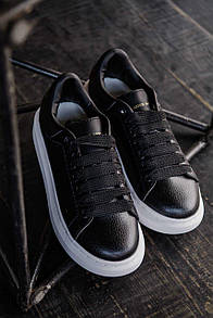 Мужские кроссовки Alexander McQueen Black