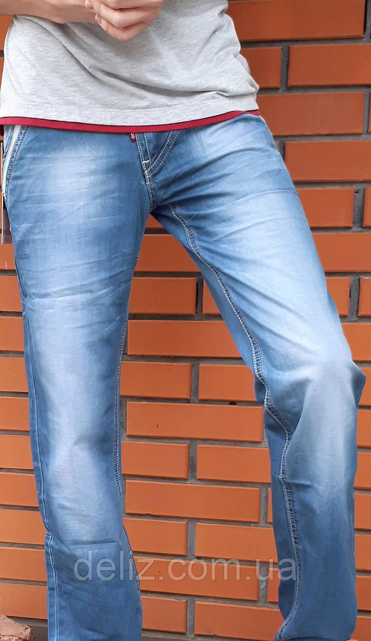 Летние подростковые джинсы Vigoocc 7060. Размер 27 (на 11-13 лет, есть замеры)