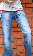 Летние подростковые джинсы Vigoocc 7060. Размер 27 (на 11-13 лет, есть замеры), фото 1