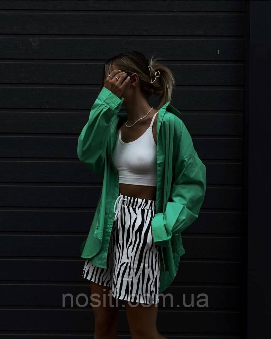 Жіноча сорочка вільного крою