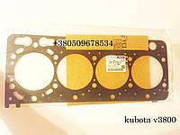 Kubota v3800 прокладка блока цилиндров