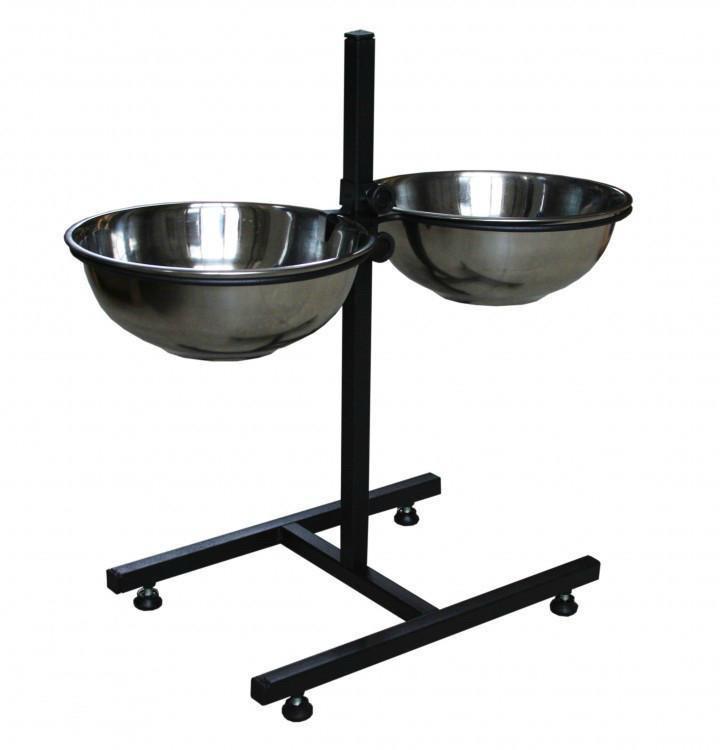 Містер Гаффі підставка з мисками для годування собак 2,4 л .
