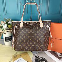 Сумка женская Louis Vuitton Neverfull Луи Витон Неверфул в большой коробке