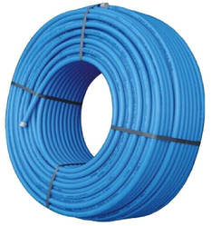 Полиэтиленовая труба синяя 6 атм из фтор сырья