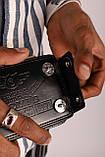 Гаманець чоловічий чорний код 424, фото 5