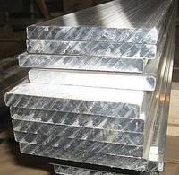 Алюминиевая электротехническая шина 5х50 мм [МЕТАЛЛОБАЗА] есть марки АД31 и АД0 с порезкой по размерам