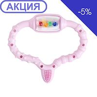 Curaprox Curababy girl Стимулятор для прорізування тимчасових зубів, рожевий