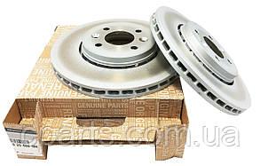 Диск гальмівний передній вентильований Renault Megane 2 1.5 DCi, 1.6 16V (оригінал)
