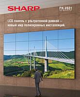 Аренда - бесшовные LCD-LED панели Sharp 60, плазма в аренду, аренда плазменной панели, экран