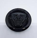 Емблема Jaguar чорна 70 мм., фото 2