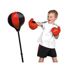 Боксерська груша на стійці і рукавички набір Спартак MS 0333