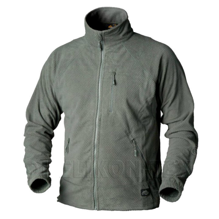 Куртка Helikon ALPHA Tactical Grid Fleece - Foliage Green