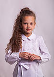 Блузка шкільна з вишивкою м. 1050, фото 6