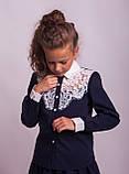 Блузка школьная нарядная 8018, фото 2