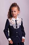 Блузка школьная нарядная 8018, фото 3