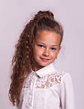 Блузка школьная нарядная 8018, фото 5