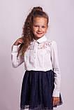 Блузка школьная нарядная 8018, фото 6