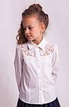 Блузка школьная нарядная 8018, фото 7