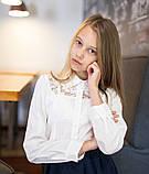 Блузка школьная нарядная 8018, фото 9