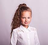 Блузка школьная нарядная 8021, фото 2