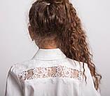 Блузка школьная нарядная 8021, фото 3