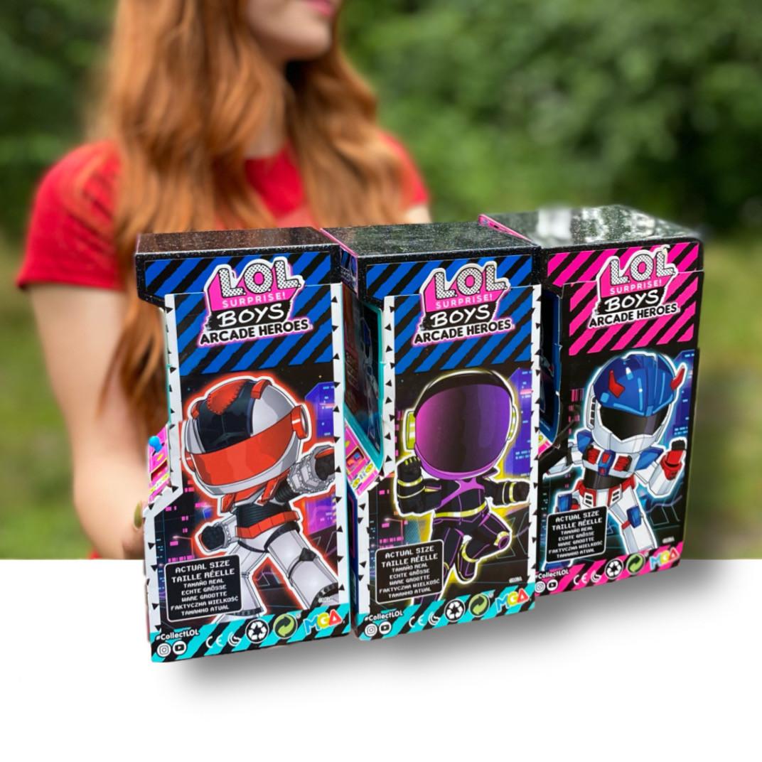 ЛОЛ Оригинал Мальчики Космонавты Герои аркады L.O.L. Boys Arcade Heroes(569374)