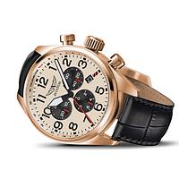 Оригінальний швейцарський годинник пілота Aviator AIRACOBRA P45 CHRONO V.2.25.2.173.4
