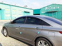 Ветровики, дефлекторы окон Hyundai  Sonata YF 2009-2014, фото 1
