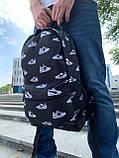 Рюкзак молодіжний Шуз Вайт (2 відділення) S172, фото 2