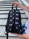 Рюкзак молодіжний Шуз Вайт (2 відділення) S172, фото 4