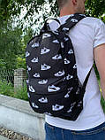Рюкзак молодіжний Шуз Вайт (2 відділення) S172, фото 5