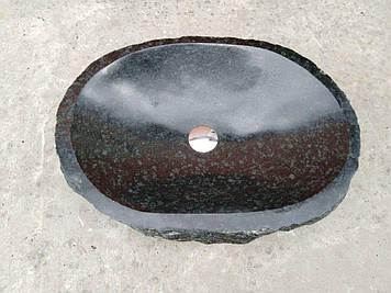 Раковина из натурального гранита, ручной работы без радиации