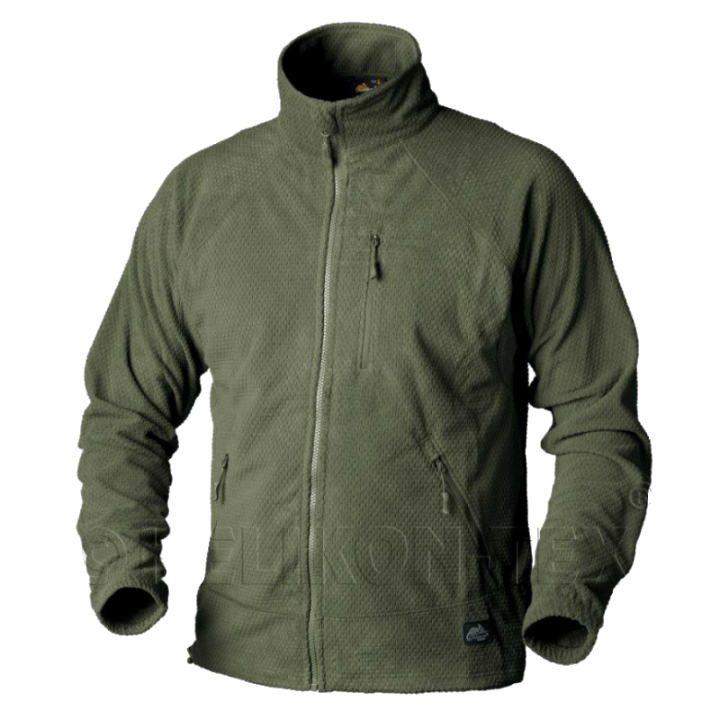 Куртка Helikon ALPHA Tactical Grid Fleece - Olive