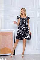 Лёгкое летнее платье р-ры 42-48 арт. 7012