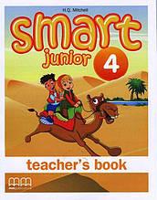 Книга для вчителя Англійська мова 3 клас Поглиблений Smart Junior 4 Teacher's Book Mitchell H.Q. MM