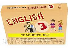 Набір для вчителя до підручника Англійська мова 3 клас Поглиблений Карпюк О. Лібра Терра