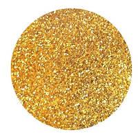 Сухие блестки 50 гр. 0,2 мм золото яркое