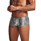 Мужские боксеры Pinky Senson под змеиную кожу, фото 4