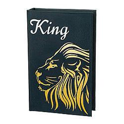 Книга-сейф Veronese Лев-Царь Зверей 26х17х5 см 10001-017