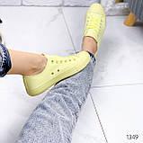 Кеди жіночі All лимонні 1349, фото 5