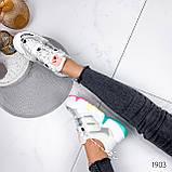 Кроссовки женские Yvon белые 1903, фото 3