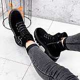 Ботинки женские  Bridge черные 2294 ЗИМА, фото 2