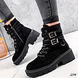 Ботинки женские  Bridge черные 2294 ЗИМА, фото 3