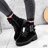 Ботинки женские  Bridge черные 2294 ЗИМА, фото 5