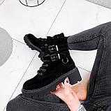 Ботинки женские  Bridge черные 2294 ЗИМА, фото 8
