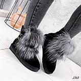 Уггі жіночі Flex чорні 2363, фото 5