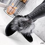 Уггі жіночі Flex чорні 2363, фото 7