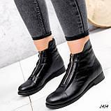 Ботинки женские Harry черные 2454 кожа ЗИМА, фото 2